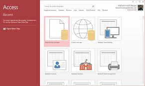 What Is Microsoft Access Ms Access Create Database Tutorialspoint