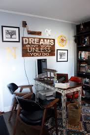 rustic chicago home office midcentury home office chicago home office