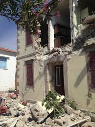 Earthquakes cause billions in damages and thousands of deaths a year. Earthquake Kills Woman Damages Buildings On Greek Island The Two Way Npr