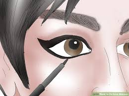 image led do emo makeup step 10