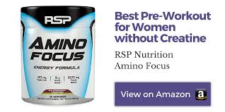 best pre workout for women without creatine