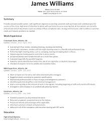 gas station clerk resume