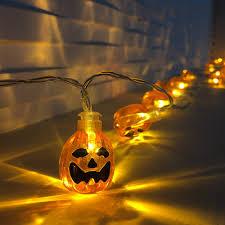 Indoor Halloween Lights Dailyart Orange Halloween Pumpkin Lights 3d Pumpkin String Light Indoor Led Jack O Lantern Halloween Lights 30 Leds Battery Powered