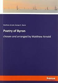 matthew arnold - poetry byron - AbeBooks