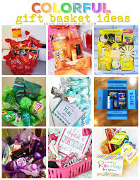 if i needed a back up job i would totally put together fun gift baskets and since i love color too let s bine the two