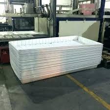 hydroponic flood tray diy flood table flood table hydroponic flood table black white abs plastic fodder
