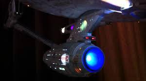 Uss Enterprise Light Up Model Starship Enterprise Model With Lights 3 Foot Long Youtube