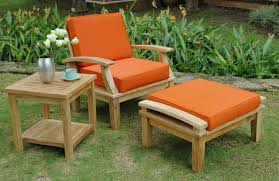 image of wooden patio chairs