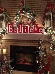 believe wood block sign letter decorations