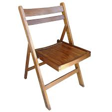 Constructed of metal and wood. Vintage Folding Chair Hire Dress It Yourself