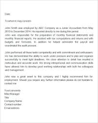 Sample Recommendation Letters For Employment In Word Regarding