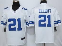 Jersey Elliott Out White Ezekiel