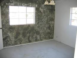 ugly faux paint walls master bedroom phoenix home house real estate photo