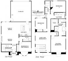 ivy floor plan 3 new homes in carmel valley north county three story townhouse pla three