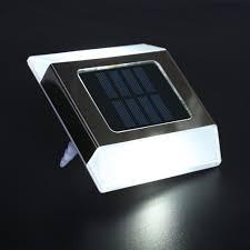 Clip On Solar Deck Lights High Quality Solar Power Deck Underground Lamp 2 Led Road