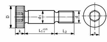 Socket Shoulder Screws And Shoulder Bolts Fastenright Ltd