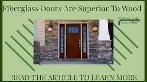 why fiberglass doors are superior
