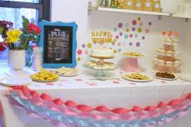 ... First Birthday Party, Dessert Table via Shoes Off Please