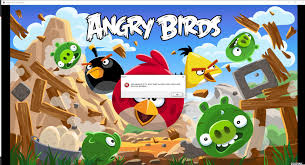 HELP! Unable to run any versions of Angry Birds on PC after installing  older version (1.5.1), does anyone know how to fix this? (screenshot shows  version 3.0.0) : angrybirds