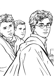 Is your child a brainy bookworm who loves to read harry potter series? Free Printable Harry Potter Coloring Pages For Kids