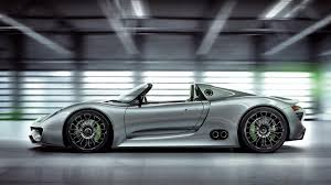Porsche\u0027s New Electric Vehicle Is Expected To Share Styling Cues With The  918 Spyder (above