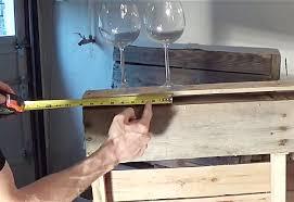 pallet wine glass rack. Interesting Pallet DIY Wood Pallet Wine Rack At Httpdiyjoycomdiy Wood On Glass W