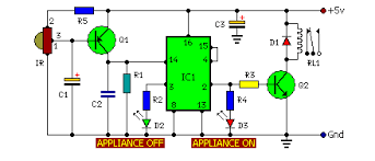 remote operated home appliances circuit eeweb community circuit diagram remote control for home appliances