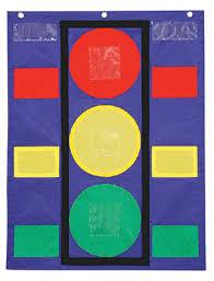 Red Light Green Light Yellow Light Behavior Chart Www