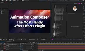 After Effects Animation Animation Composer Review The Most Handy After Effects Plugin