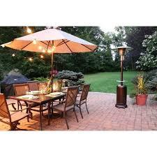 7 foot patio umbrella ft steel heater in hammered bronze table outdoor propane lovely 7 foot patio umbrella