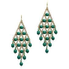 emerald chandelier earrings topearrings lighting ideas