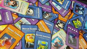clash royale cards. clash royale ☆ real cards in legend arena?! shuffle deck card game! - youtube cards
