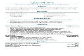 Hr Manager Resume samples   VisualCV resume samples database