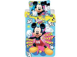 disney mickey mouse bam duvet cover single 140 x 200 cm multi