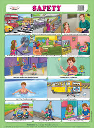 Safety Habits Chart Alka Publications Educational Chart