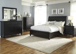Liberty Furniture Bedroom Furniture Hamilton Iii 4 Piece Storage Bedroom Set In Black