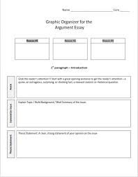 simple argumentative essay outline