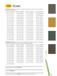 Tiger Color Chart Applications Color Chart From For An Accurate Ral Color