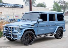 Kylie jenner is blue after her breakup with tyga. 2020 Mercedes Benz G Class Blue