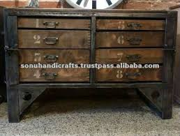 industrial looking furniture. indian industrial old style furniture looking e