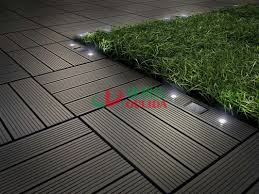 eco friendly diy deck. Contemporary Friendly Diy Interlocking Composite Deck Tiles Wood Plastic Solar With LED  Lights For Eco Friendly H