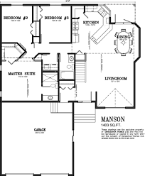 small house plans with basement. Delighful Plans 1500 Sq Ft Ranch House Plans With Basement  Deneschuk Homes 1400   Home Plans RTM And Onsite On Small House With Basement S