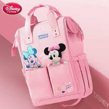 <b>Disney Diaper</b> Bag for Mom <b>Nappy</b> Bag <b>USB Heating</b> Bottle Warmer ...