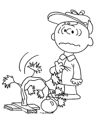 Charlie Brown Thanksgiving Coloring Pages At Getdrawingscom Free
