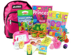 The Pack - Travel Toys, Puzzles and Games for 3 to 5 year old girls Year Old Girls is a child sized backpack fully