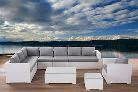 New Outdoor High End Wicker Furniture Sectional Lounge Designs