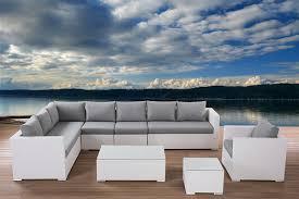 outdoor white wicker furniture nice. White Wicker Sectional Patio Furniture Outdoor Nice I