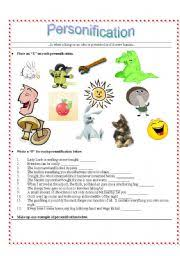 ideas of personification worksheets for kids also example gallery of ideas of personification worksheets for kids also example