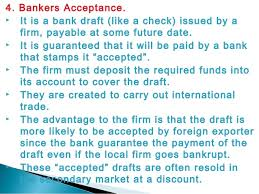 In this post, we will try to find out what it is in the simplest possible terms and discover why it can be both bad and good to you. Bankers Acceptance Advantages And Disadvantages