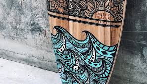 surfboard art club of the waves
